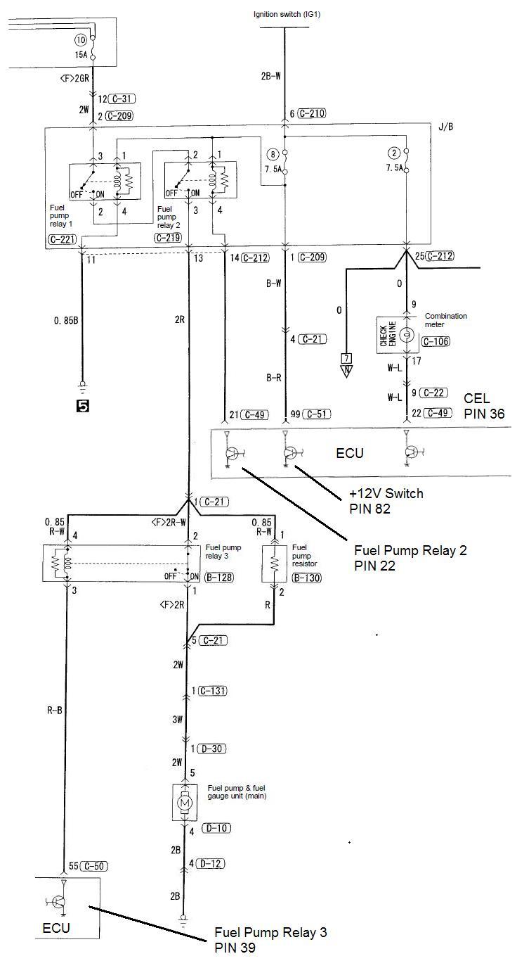 mitsubishi evo 3 ecu wiring diagram