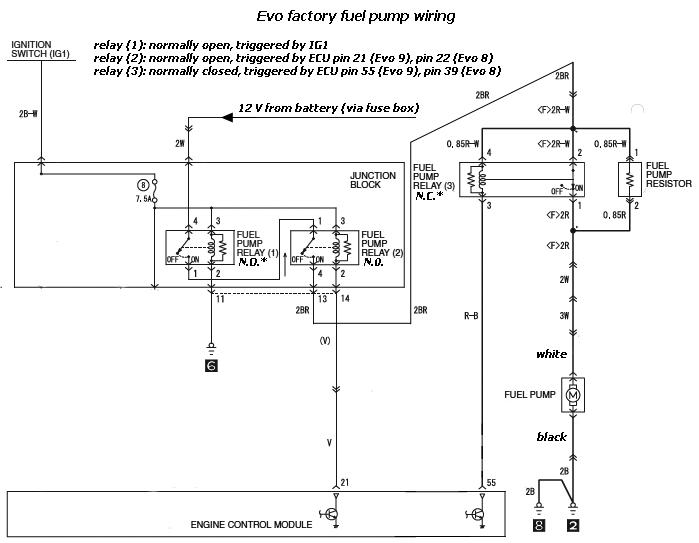 evo 9 radio wiring diagram