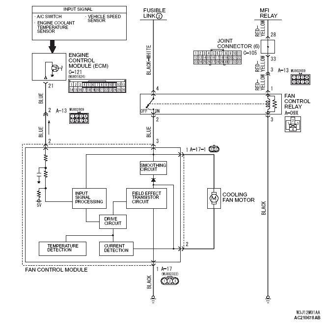 Switch Wiring Diagram Furthermore Electric Radiator Fan Wiring