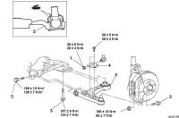Rear suspension diagram and torque specs - evolutionm.net