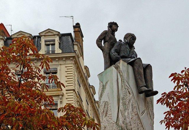 Küçük Prens - Saint-Exupéry heykeli (Rusya)