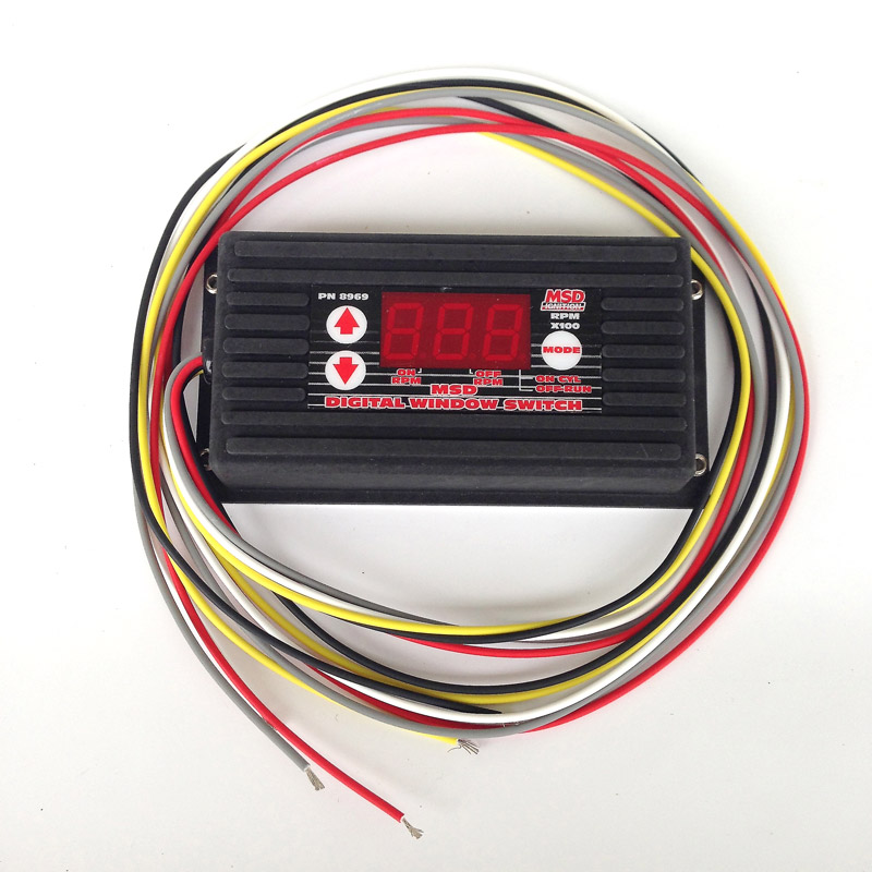 MSD 8969 Digital RPM Window Switch, EV West - Electric Vehicle Parts