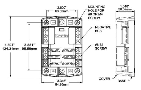 24 volt fuse block