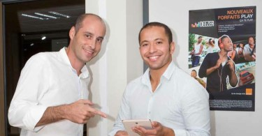 Olivier Bagouet et Teddy Naranin