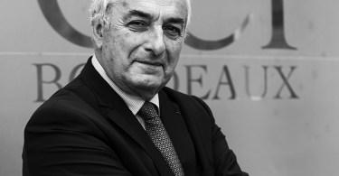 Pierre Goguet, président de la CCI Bordeaux