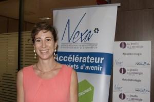 Morgane Trapu, gérante de Réunion Portage