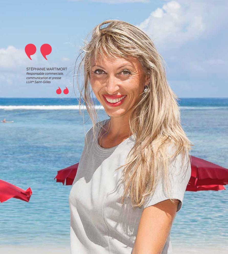 Stéphanie  Martimort, LUX-souriante