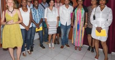 Réseau Entreprendre Martinique soirée de clôture du Concours CREATIV 2017