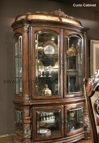 Isabella Curio Cabinet with Lighting Box
