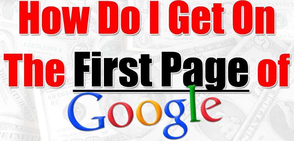 rank on Google First page without backlinks
