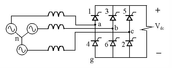 SIX PULSE BRIDGE RECTIFIER