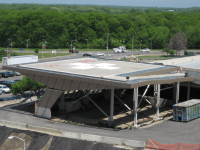 Stony Brook Hospital Parking Deck - EW Howell