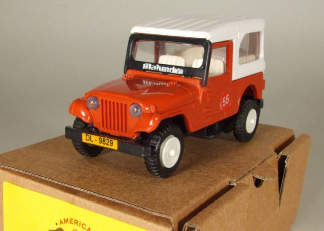 Mahindra Toy Jeep Out Of India Sold Ewillys