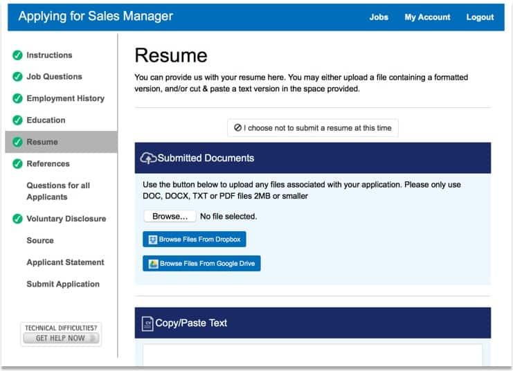 Online Employment Applications HR Software ExactHire