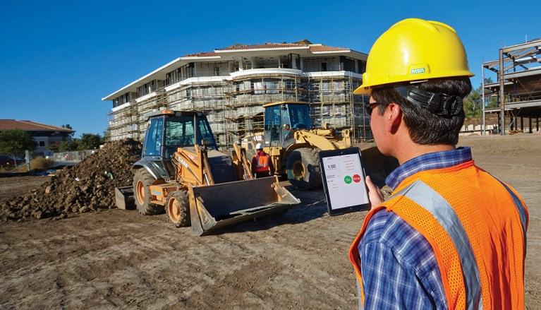 ExakTime Mobile helps keep jobs on track.