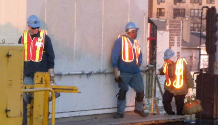 Transit Construction Workers