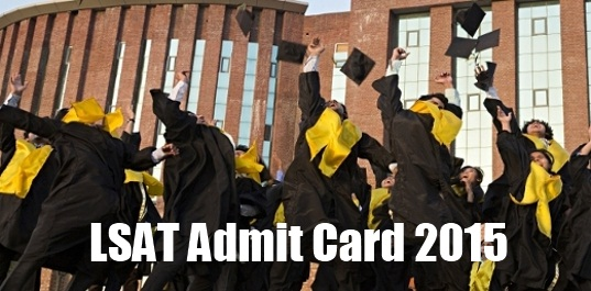 LSAT Admit Card 2015