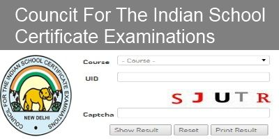 CISCE Class XII Exam Results