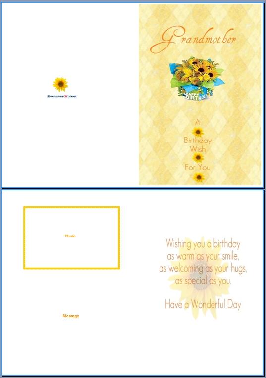 Birthday Card Template Word \u2013 gangcraftnet - birthday wishes templates word