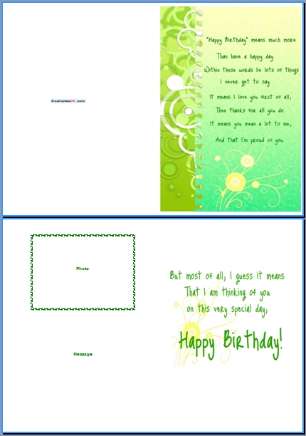 Word Birthday Card Template \u2013 gangcraftnet - free birthday templates for word