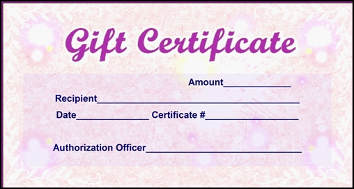 Gift Voucher Format Sample best 25 gift coupons ideas on – Sample Gift Card