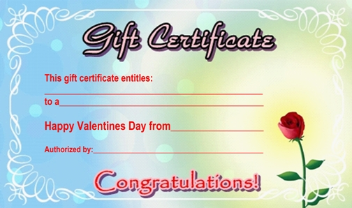 gift card examples - Boatjeremyeaton - gift voucher format sample