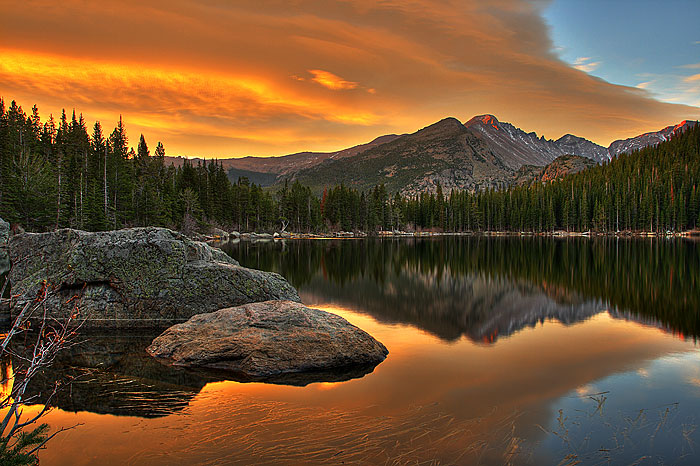 Hd Wallpaper Yosemite Fire Fall Examples Of Landscape