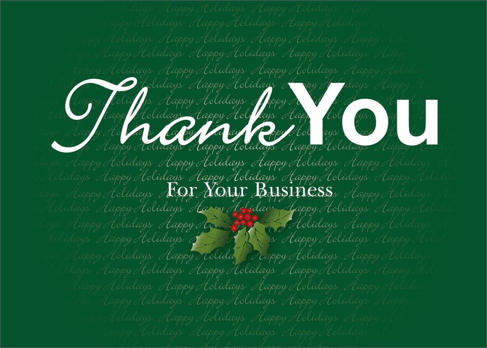Sample of Christmas Letter of Thanks to Business Clients