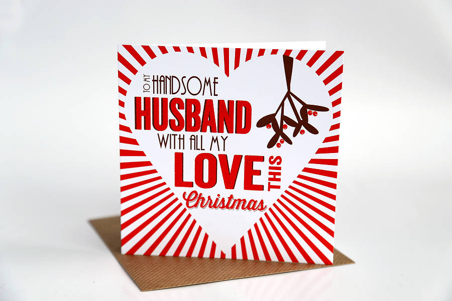 Sample of a Romantic Christmas Love Letter for your Husband