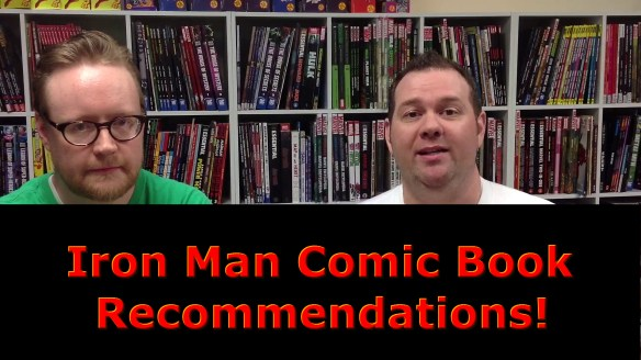 Iron Man Comic Book Recommendations