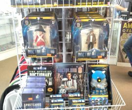 Randy has restocked the Dr. Who section!