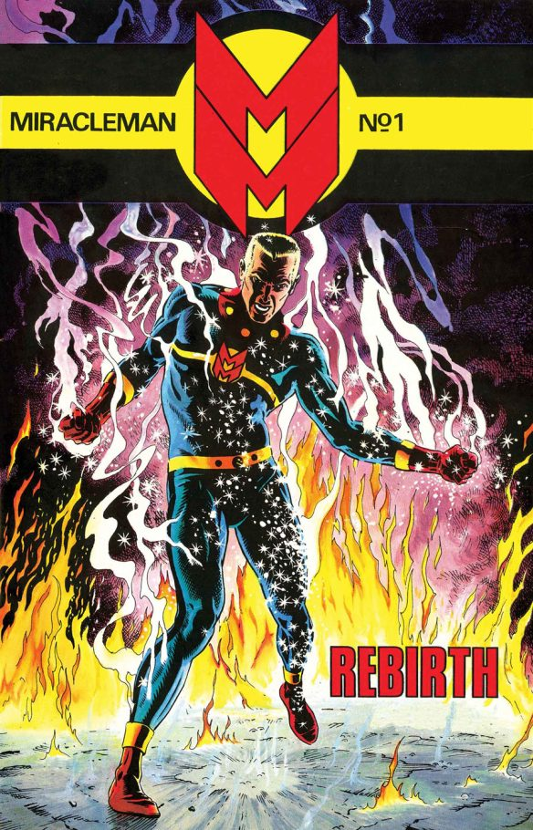 Miracleman #1 from Marvel Comics