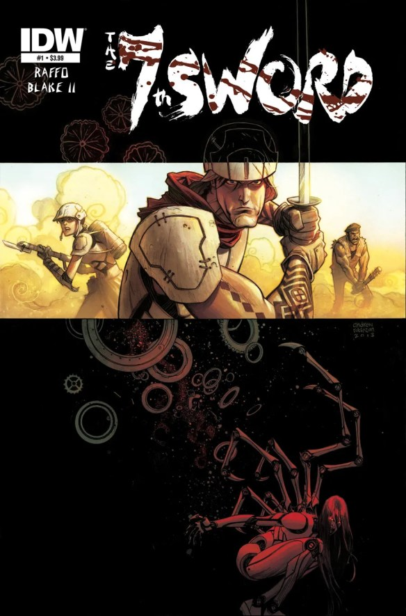 7th Sword #1 from IDW Comics