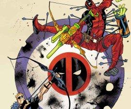 Hawkeye Vs. Deadpool #0 from Marvel Comics