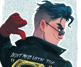 Convergence: Superboy #1 from DC Comics