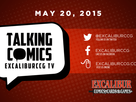 Talking Comics for May 20th, 2015!