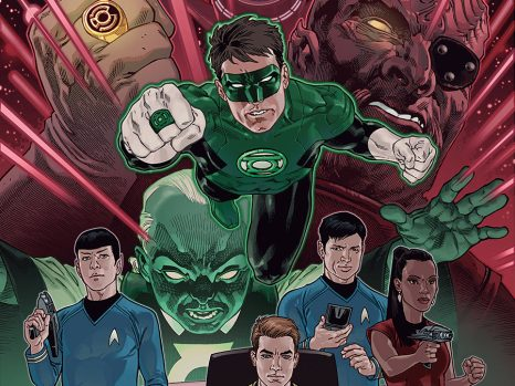Star Trek/Green Lantern #1 from IDW Comics