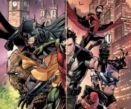 Batman and Robin Eternal #1 from DC Comics