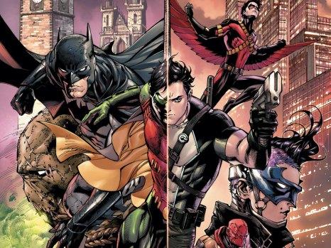 Batman and Robin Eternal #1 from DC Comics