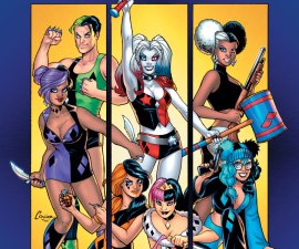 Harley Quinn and Her Gang of Harleys #1 from DC Comics