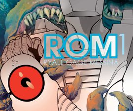Rom #1 from IDW Comics