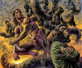 Tarzan on the Planet of the Apes #1 from Dark Horse Comics