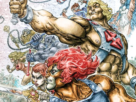 He-Man/Thundercats #1 from DC Comics