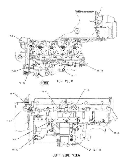 caterpillar c9 engine diagram