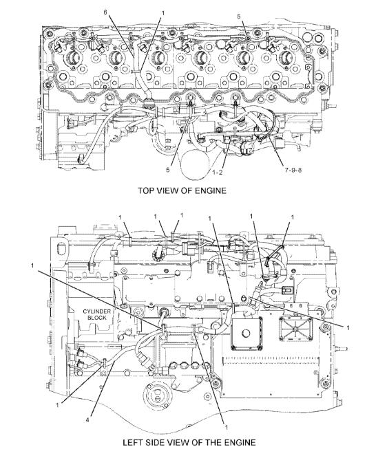 caterpillar excavator wiring diagram