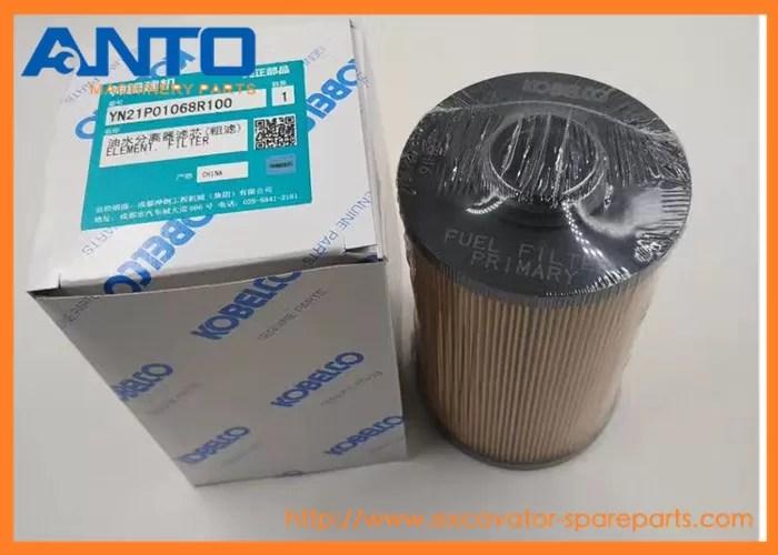YN21P01068R100 Fuel filter Filt For Kobelco Excavator SK350-8,SK350