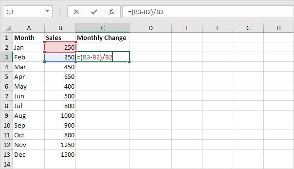 how to write excel formulas