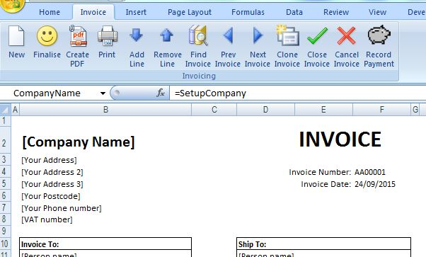 Free Excel invoicing tool for small businesses - free excel invoice