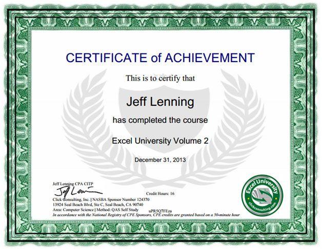 Online Excel Training Excel University