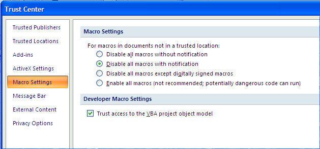 Section 1 Programming in Excel (Macros) - excel developer